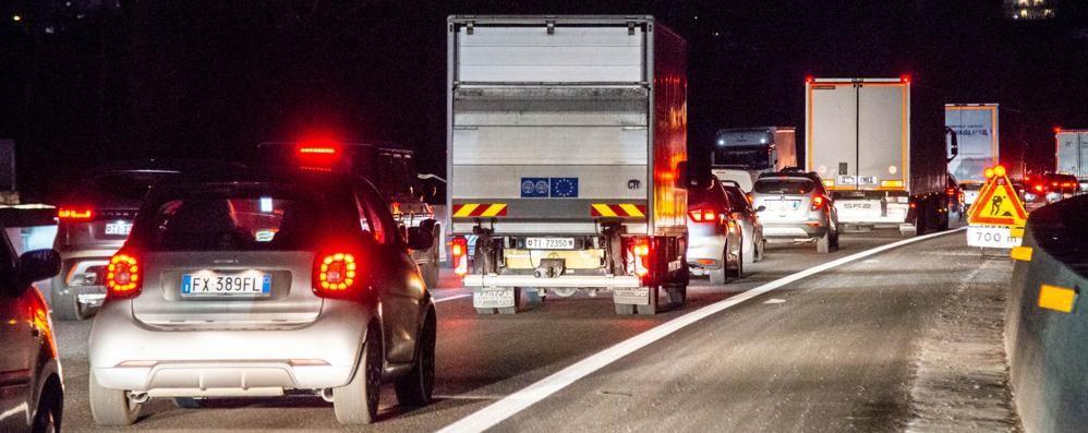Autostrada, 2 mesi da incubo  Corsie chiuse fino ad aprile
