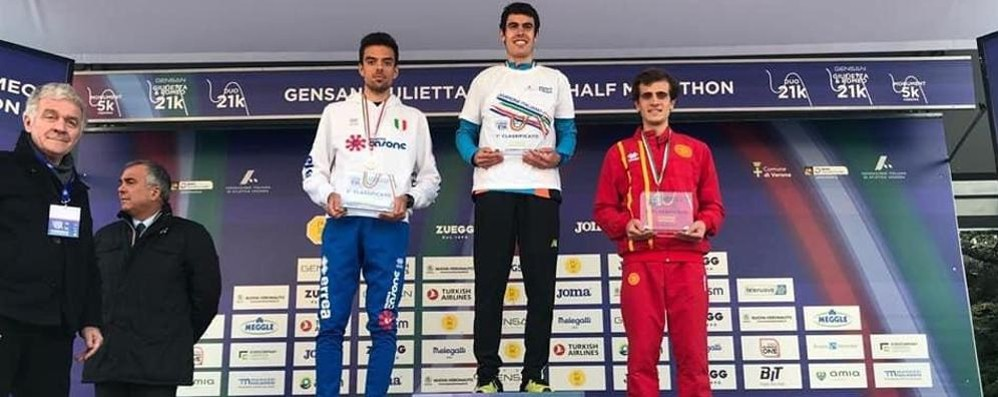 La mezza maratona a Verona  Mondazzi tricolore Under 23