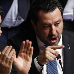Più forte e più debole  Il paradosso Salvini