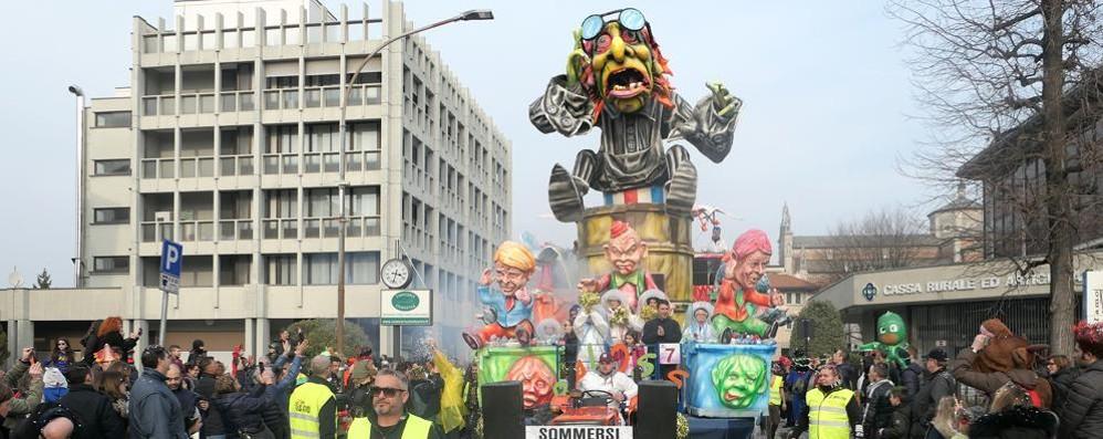 Carnevale di Cantù  Numeri da record  alla seconda sfilata