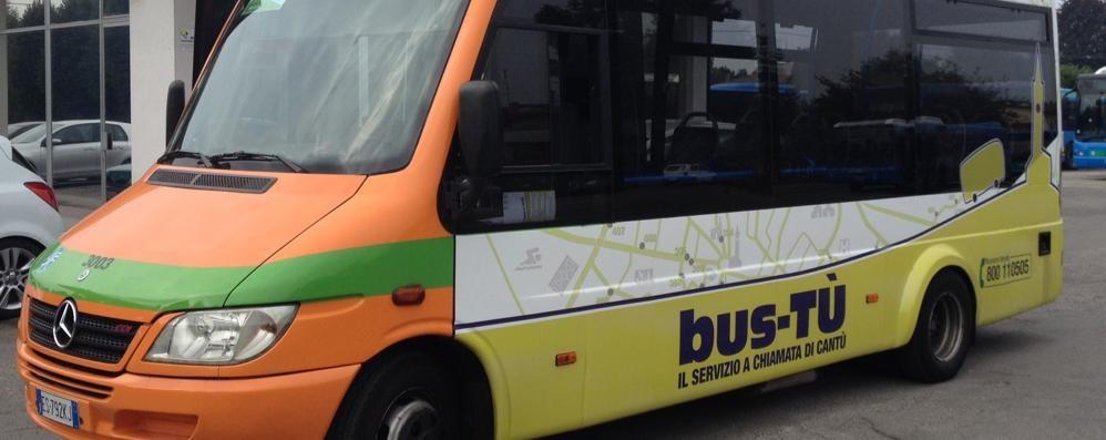 Cantù, addio bus a chiamata  Si potenzia la circolare urbana
