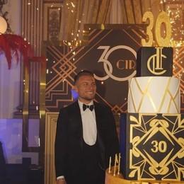 Immobile, festa stile Grande Gatsby  Con maxitorta made in Cermenate