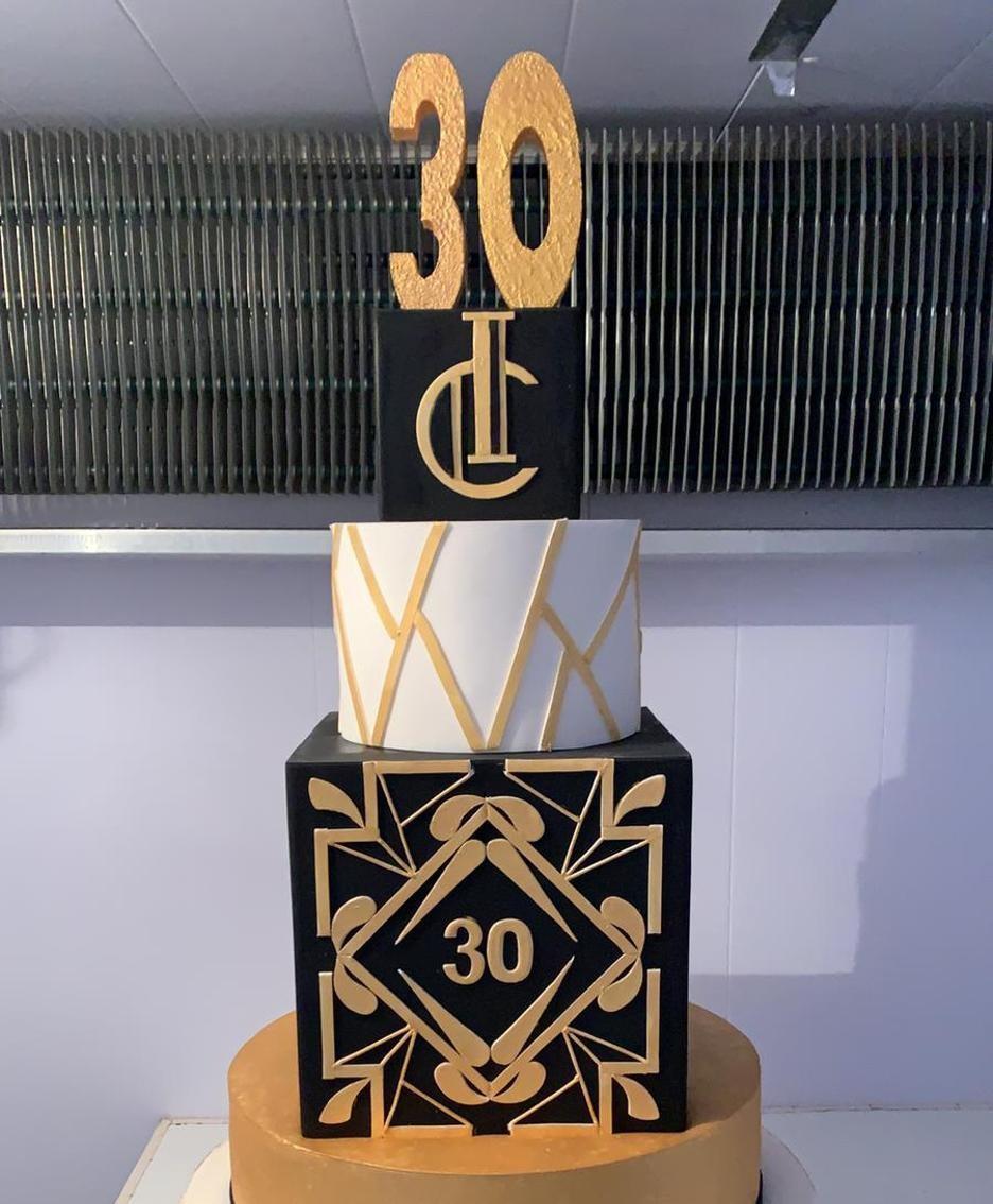 La torta realizzata da Roberto Ramperti
