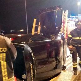 Tre incidenti d'auto nella notte Feriti a Faloppio, Orsenigo e Bellagio