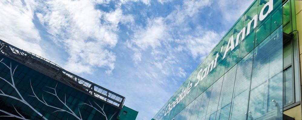 COMO: CORONAVIRUS  UN PAZIENTE AL SANT'ANNA