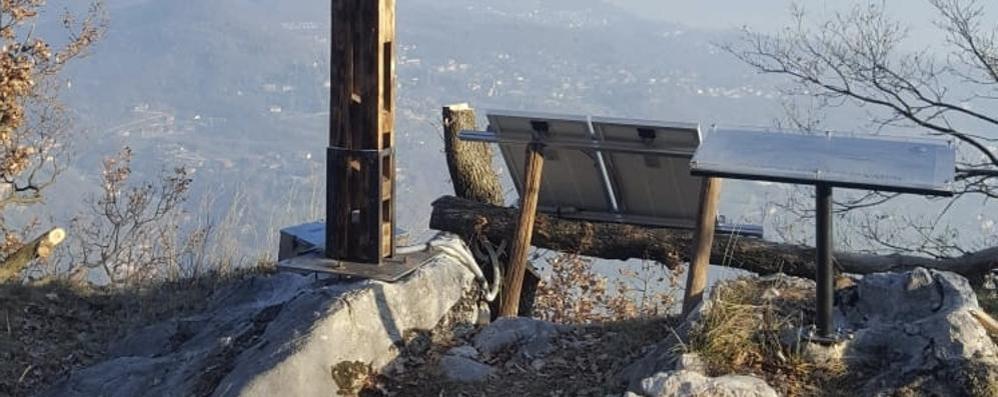 """Ponte Lambro, in crisi sulla ferrata  Soccorsi sul """"sass Tavarac"""""""