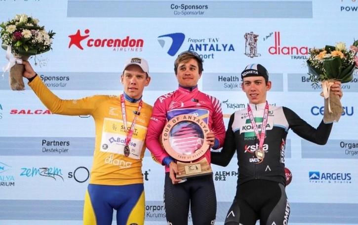 Fancellu è terzo in Turchia «Contento per me e il team»