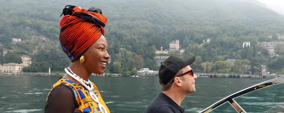 Fatoumata e Gorillaz:  video d'amore per Como