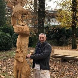 «Così gli alberi abbattuti  diventano vere sculture»