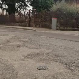 Mariano, rattoppi nelle strade  Asfaltature solo in primavera
