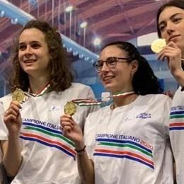 Pedreschi, staffetta oro  Ali 2°, Boleso due volte podio