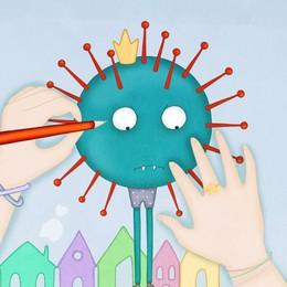«Ho disegnato una fiaba che spiega il virus ai bimbi»