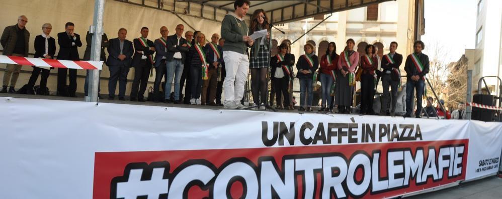 Cantù, il Comune manifesta in rete  contro la 'ndrangheta