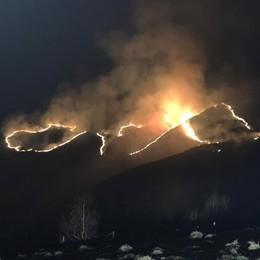 Il grande incendio di Garzeno  Denunciati due allevatori del posto