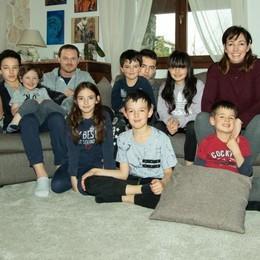 Coronavirus in Val d'Intelvi   «In casa con 11 figli  Non ci annoiamo»