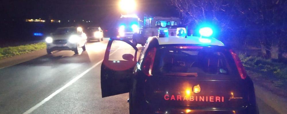 Frontale tra auto e furgone  A Lurago tre persone ferite