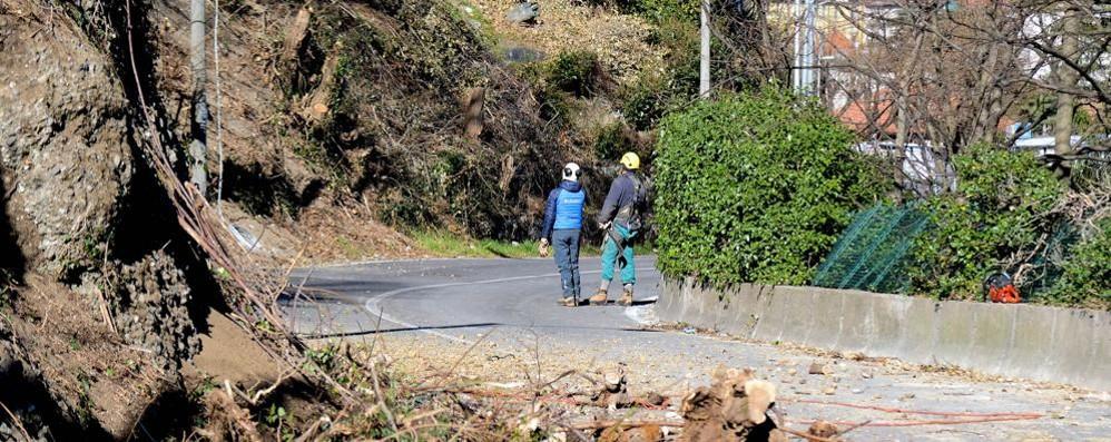 Olgiatese, Como sempre più lontana   «Aprite la strada per San Fermo»