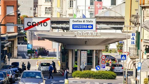Coronavirus in Ticino  Tra i frontalieri  la paura dei licenziamenti