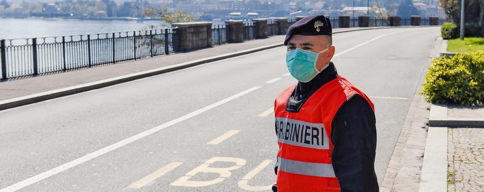 Coronavirus: i controlli pasquali  Sei multati su cento