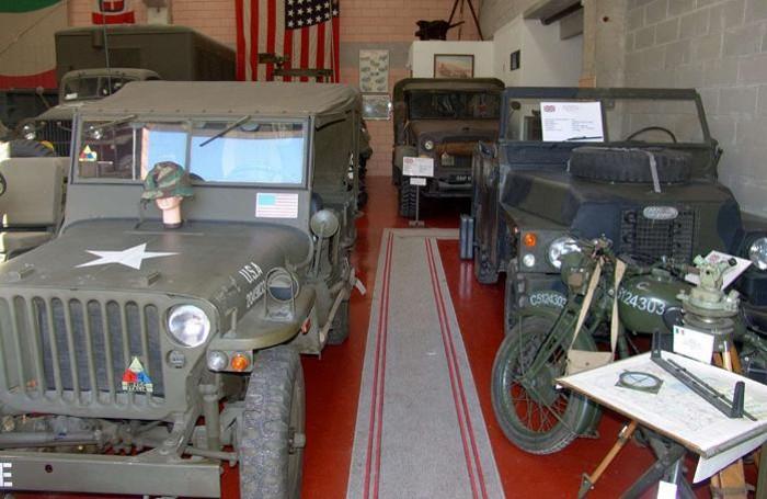 La jeep Willlys utilizzata dall'esercito degli Stati Uniti d'America nella Seconda guerra mondiale