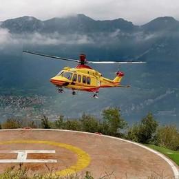 Laino, cade in montagna: gravissimo  Sul posto elicottero e soccorso alpino