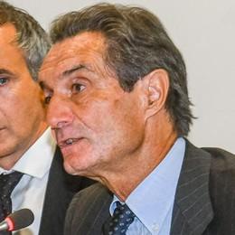Lettera di Fontana ai sindaci  «Un piano di investimenti»