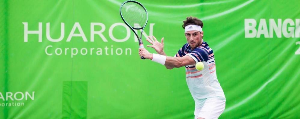 Arnaboldi e il tennis che cambia «Il guanto non lo metterei mai»