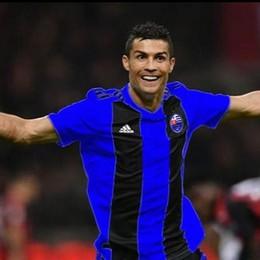 Ma quello non è Ronaldo con la maglia del Fenegrò?