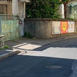Erba, strade ok con il lockdown  Ora tocca alle buche di via Plinio
