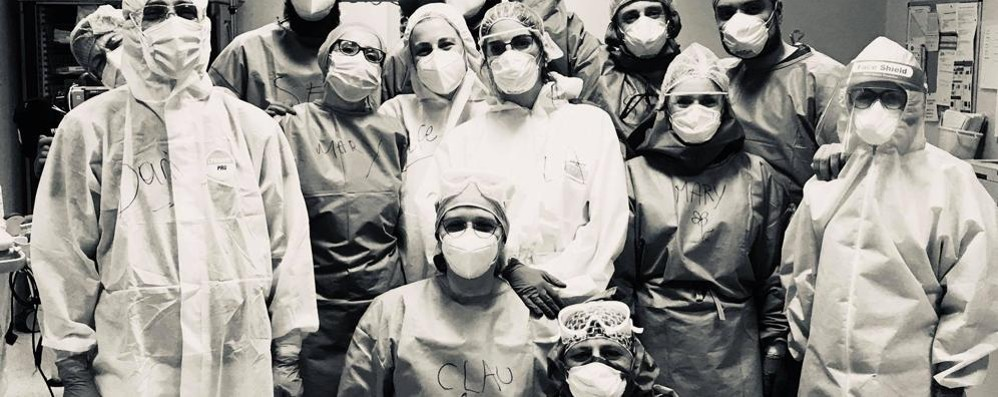 I 60 giorni in trincea  a lottare contro il virus