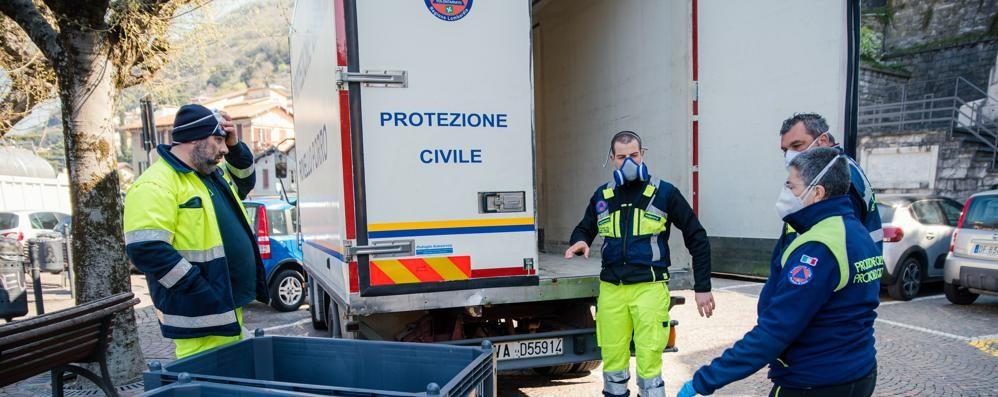 Blevio: altri guai per l'acqua   Arriva la Protezione civile