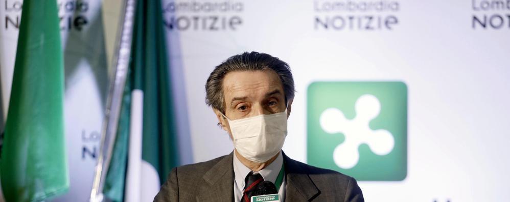Coronavirus: in Lombardia  obbligo di circolare con volto protetto  Ma Borrelli: «Io non uso la mascherina»