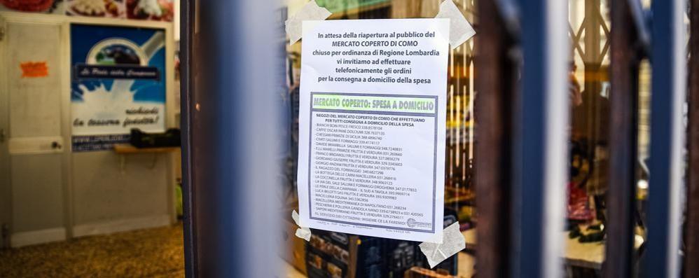 La Regione ci ripensa, il mercato riapre Sospiro di sollievo in via Mentana