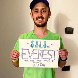 Carimate, la salita sull'Everest  «Io l'ho fatta in 15 ore. A casa»