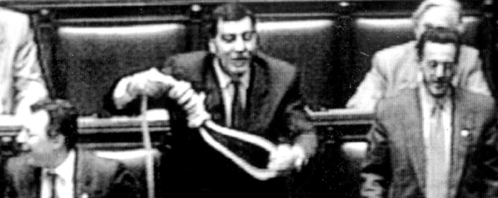 Como: trent'anni fa  la politica cambiò