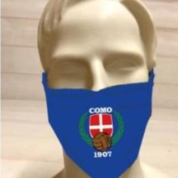 Ecco le mascherine del tifo I colori del Como anti-Covid
