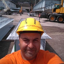 Il nuovo ponte Morandi  Di Valmorea la segnaletica