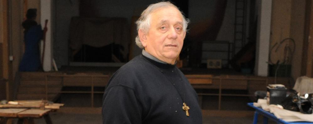 Mozzate piange don Luigi Alberio  «Perdiamo un grande benefattore»