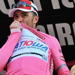 Sette anni fa Paolini in rosa al Giro
