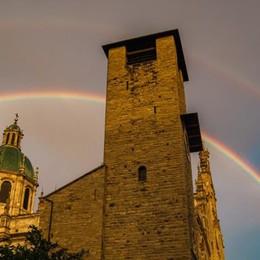 Como, Colverde e Carate Urio  Arcobaleno vuol dire speranza