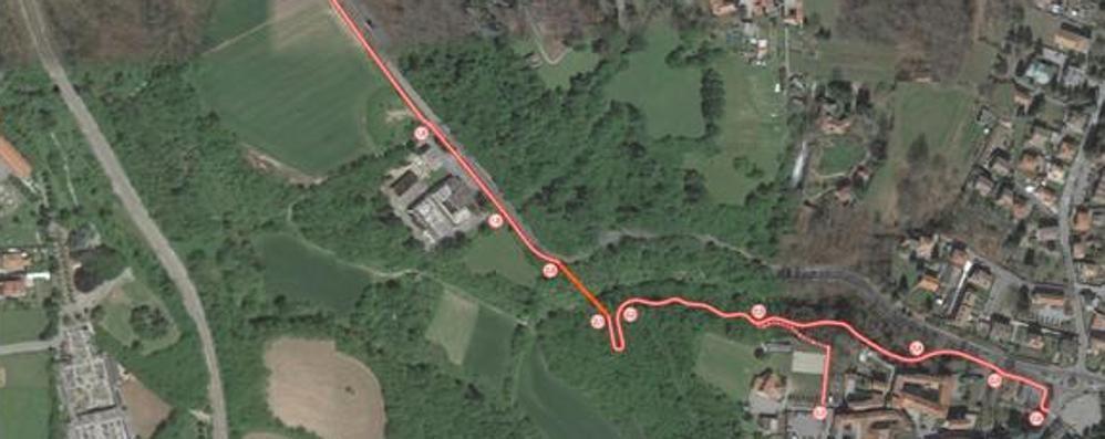 Nuova pista ciclabile  Cadorago spende un milione