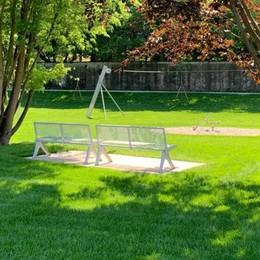 Uggiate ha un nuovo parco  «Non vediamo l'ora di aprirlo»