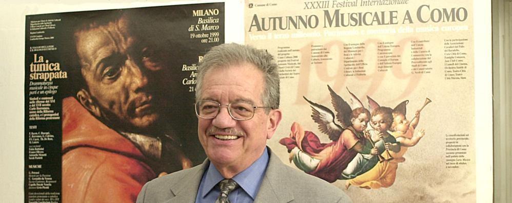 """È morto Italo Gomez,  """"papà"""" dell'Autunno Musicale"""