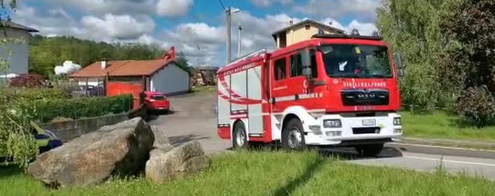 Esplosione di Fino: i pompieri  fanno brillare gli ordigni. VIDEO