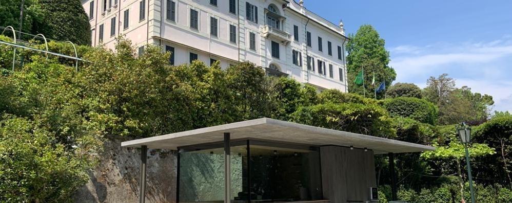 La nuova biglietteria  e i percorsi protetti  Riecco Villa Carlotta