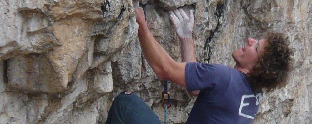Tragedia in montagna in Valtellina  Morto il Ragno Matteo Bernasconi