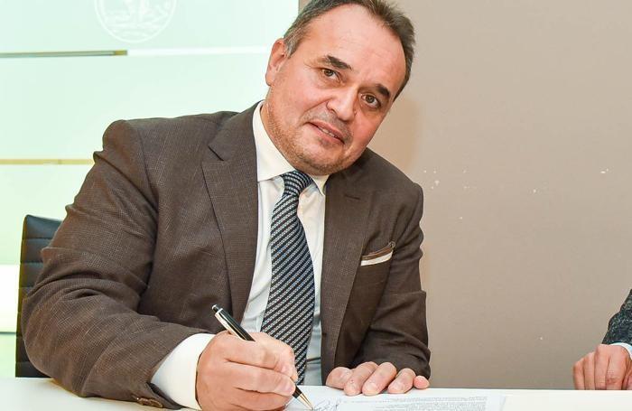 Il sindaco Giovanni Bernasconi