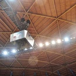 PalaDesio, tetto da rifare  Servono 250 mila euro