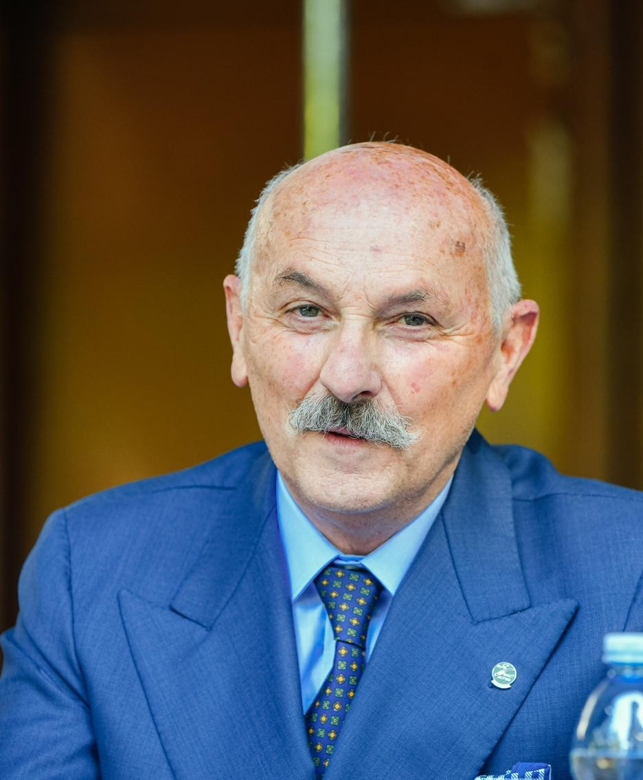 Il neopresidente Enrico Bianchi