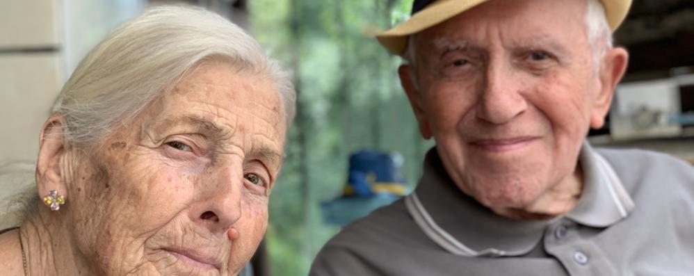 Schignano, marito e moglie da 70 anni  Quasi un record per Vanda e Giovanni